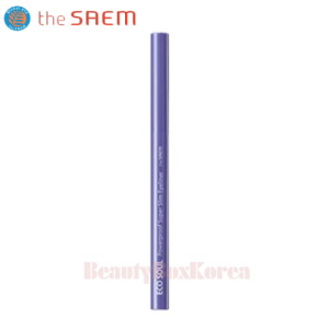 THE SAEM Eco Soul Powerproof Super Slim Eyeliner 0.1g [2018 SS Campaign]